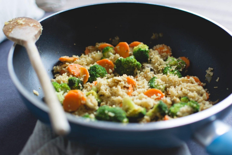 Couscousschotel met groenten