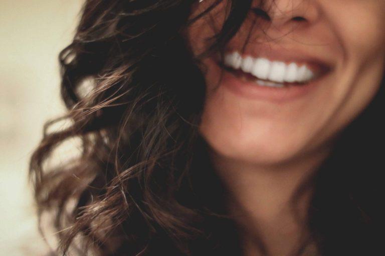 leven met diabetes vrouw lach tanden gezondheid