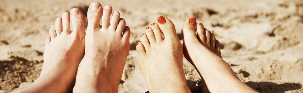 Op goede voet met je voeten