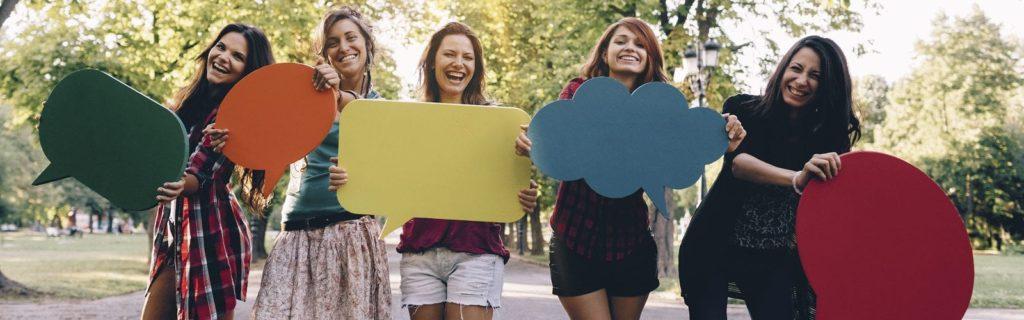 leven met diabetes vrouwen vrolijk lachen
