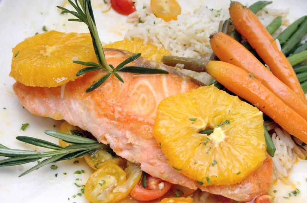 recept diabetes vis zalm voeding