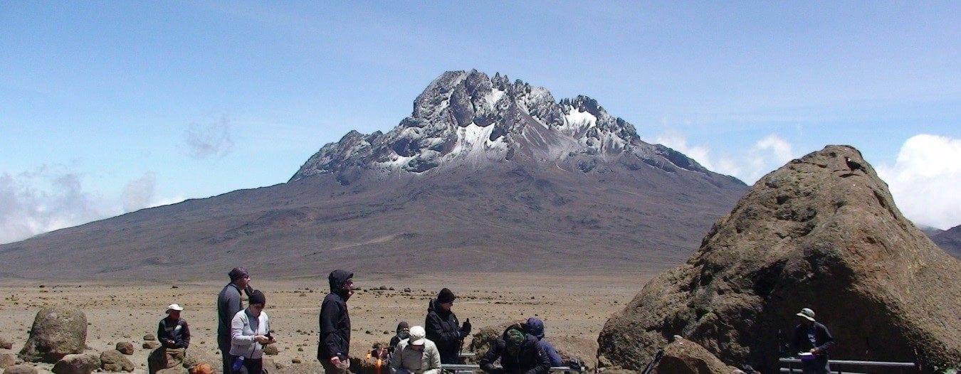 Naar de top van de Kilimanjaro