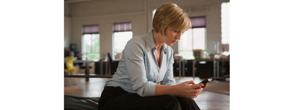 leven met diabetes vrouw telefoon symptomen