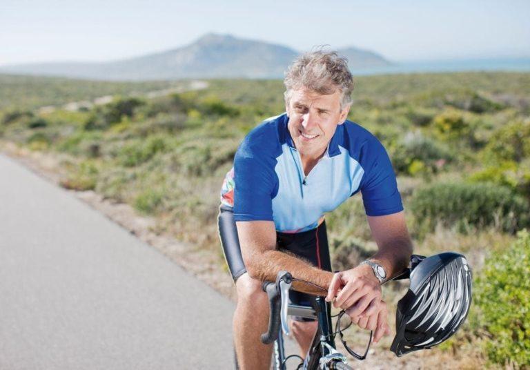 sporten en bewegen leven met diabetes man