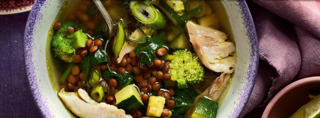 recepten diabetes voeding eten linzensoep
