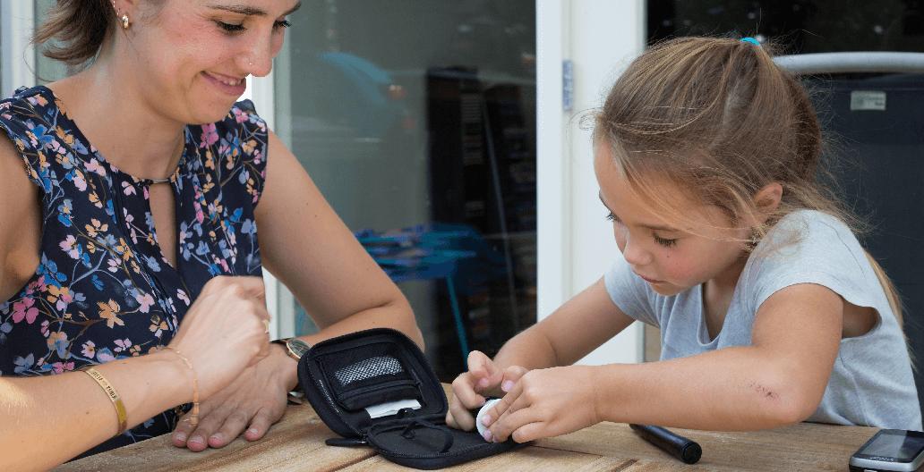 'We realiseren ons vaak hoe fijn de insulinepomp is'