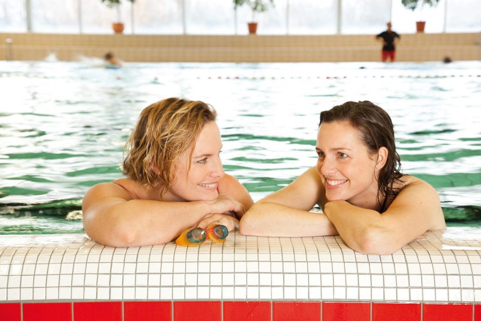 Zwemmen is gezond en maakt je lichaam blij