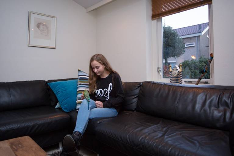 """Marit van Beek: """"Je leert er steeds beter mee omgaan"""""""