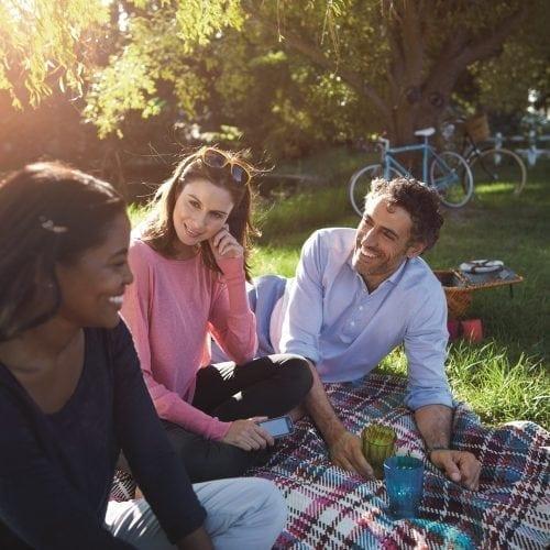 leven met diabetes vrienden picknick