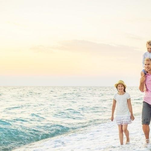 leven met diabetes sporten en bewegen strand familie