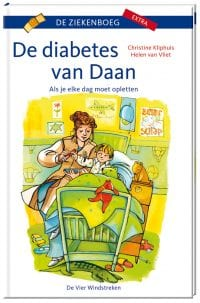 Omslag kinderboek De diabetes van Daan