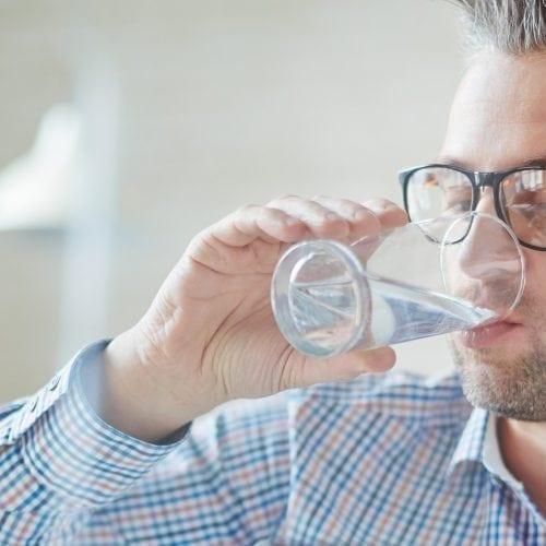 drinken water leven met diabetes voeding
