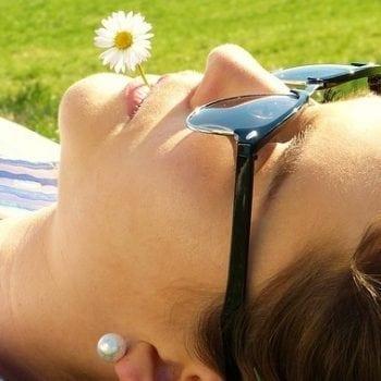 leven met diabetes zon bloem vrouw