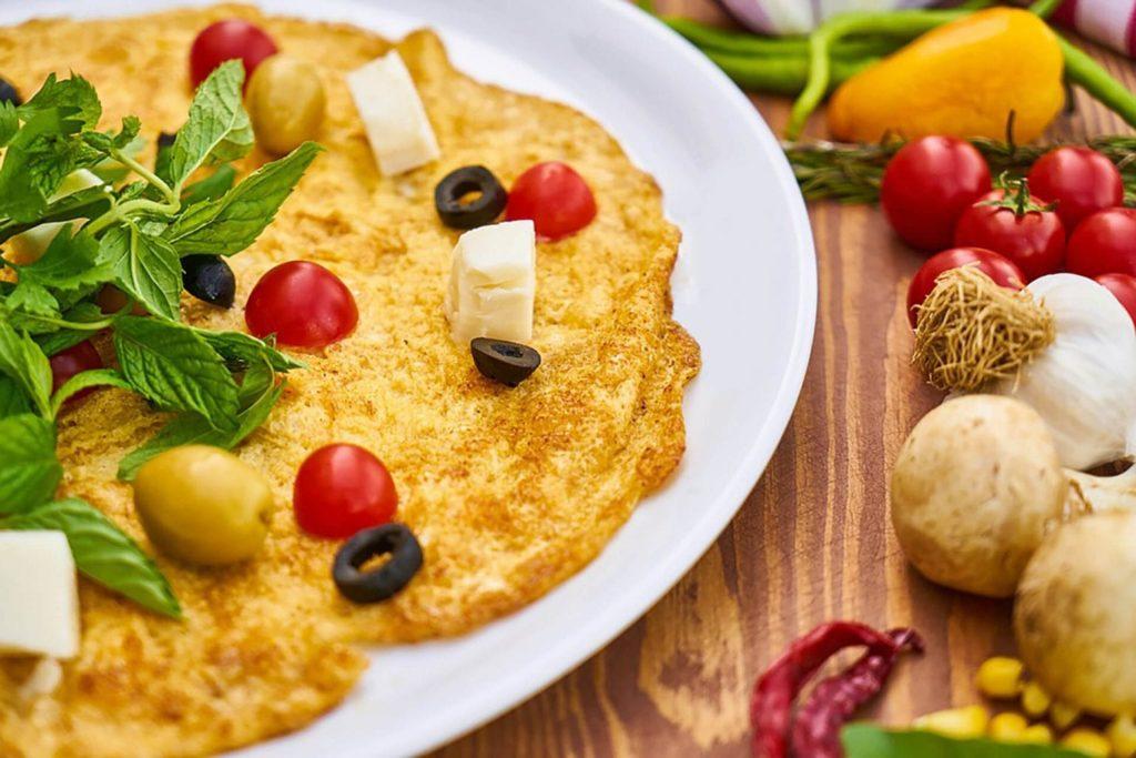 recepten diabetes omelet voeding dieet