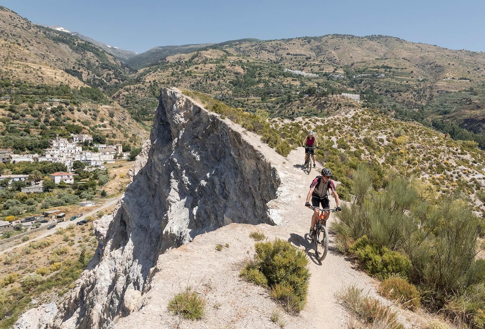 leven met diabetes sporten en bewegen fiets berg