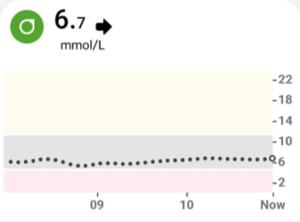 Leven met diabetes glucosesensor