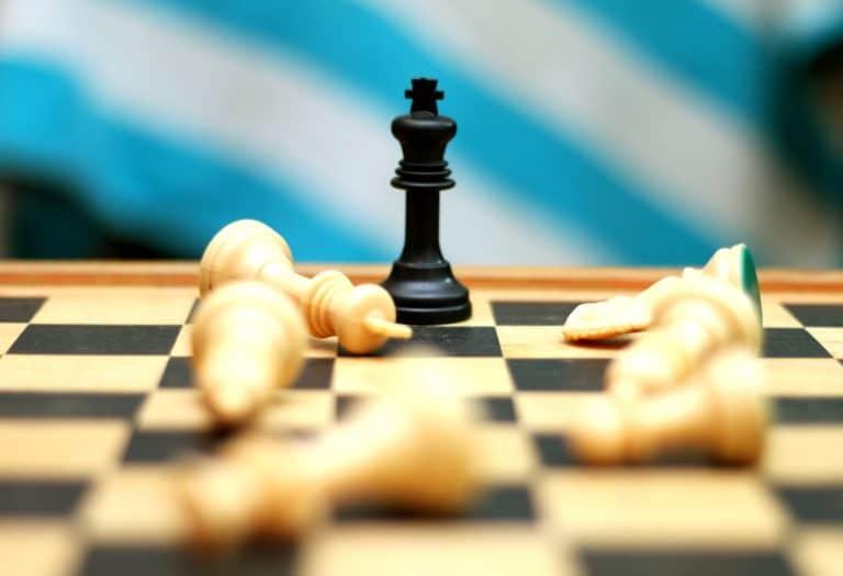 Onverwachte hypo - schaakbord