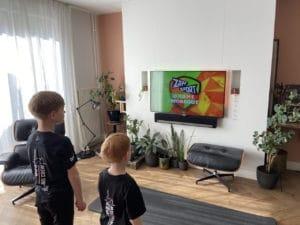 Olaf sporten met kinderen corona crisis diabetes