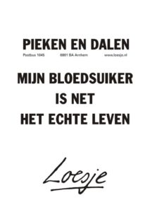 Loesje diabetes quote
