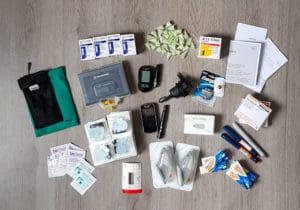 Leonneke, diabetesspullen, paklijst