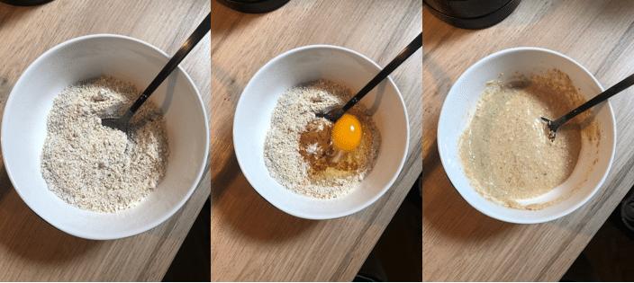 Devlin, havermout, pannenkoekjes, ontbijt