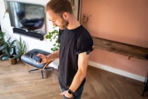 Olaf, hardlopen, technologie, diabetes, sensor