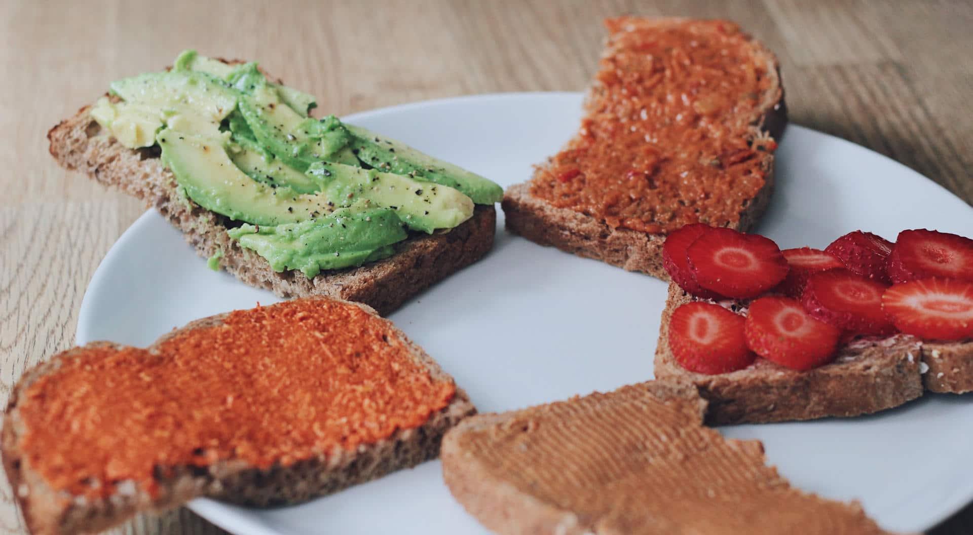 5x koolhydraatarm en diervrij broodbeleg