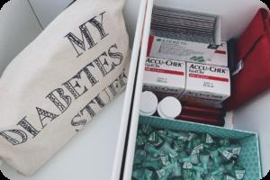 organiseren van mijn diabetesspulletjes