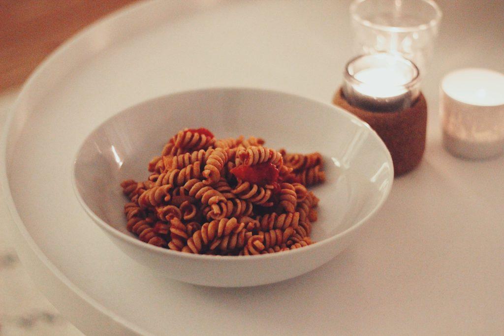 vegetarische koolhydraatarme go-to pasta