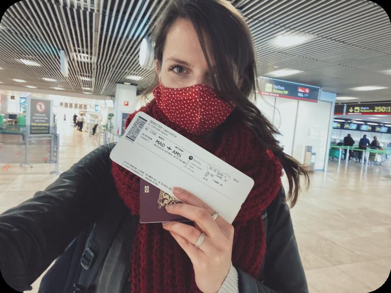 terugvliegen naar Nederland voor mijn diabetesbenodigdheden